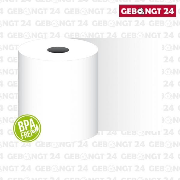 Thermorolle 80mm x 170m x 25mm, 70 g/m² Thermopapier, BPA frei
