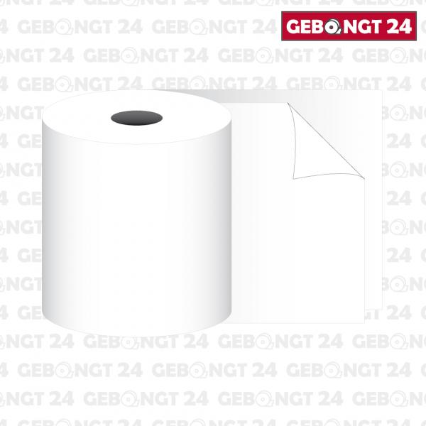 2-fach Rolle 76 x 14m x 12 I Normalpapier weiß-weiß