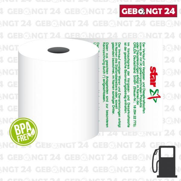 Thermorolle 80x80 für Star Tankstellen - BPA frei