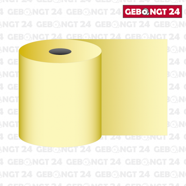 Thermorolle gelb 80mm (Abb. ähnlich)