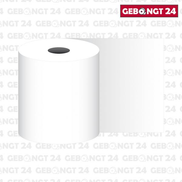 Thermopapierrolle 76mm breit, weiß