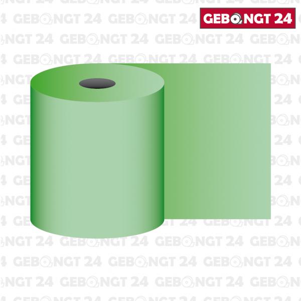 Thermorolle 58mm, grün (Abbildung ähnlich)